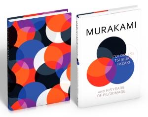 Phiên bản bìa cứng của Tskuru Tazaki, bìa màu trắng ở ngoài chính là dust cover