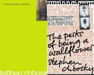 Hai trong số nhiều phiên bản bìa paperback của The Perks. Bìa có chữ đen là phiên bản xuất bản ở thị trường châu Á.